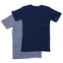 Lot de 2 T-shirts coton BIO manches courtes garçon