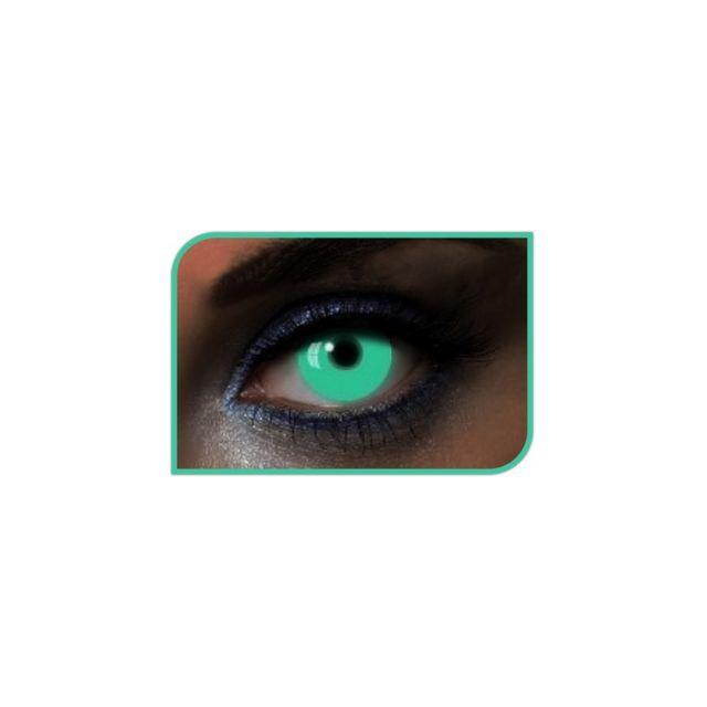 Marque Generique Lentilles Uv vertes Lentilles U.V de couleur verte et de nature phosphorescente, pour homme ou femme.