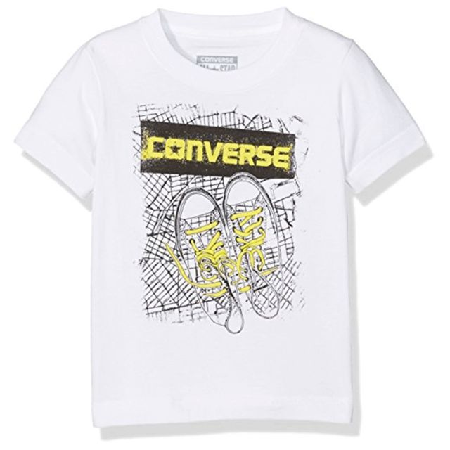 t shirt garcon converse