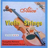 Alice - Jeu de 4 cordes pour violon - sous blister