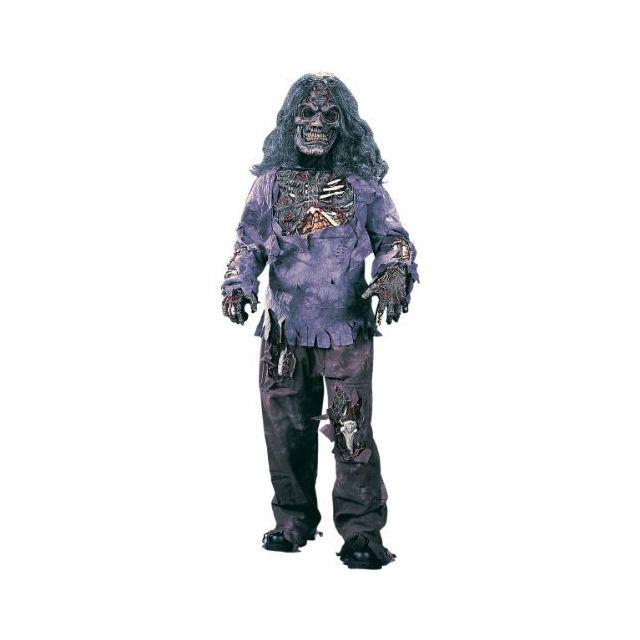 Fun World Complete Zombie Costume Small 4-6 Multicolor