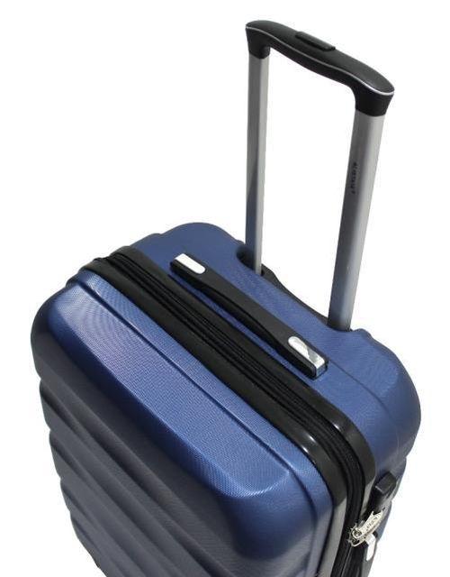ALISTAIR - Set de 3 Valises Fly - ABS Ultra Légères - 4 Roues - Bleu 113