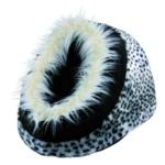 Trixie - Abri douillet Minou 35 × 26 × 41 cm léopard des neiges pour chien
