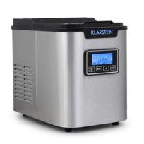 KLARSTEIN - Icemeister Machine à glaçons 12kg/24h Acier -noir