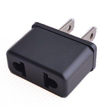 cabling adaptateur secteur fiche francaise vers fiche americaine pas cher achat vente. Black Bedroom Furniture Sets. Home Design Ideas