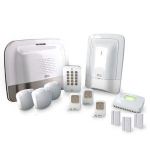 delta dore tyxal pack alarme maison sans fil compact gsm n 3 pas cher achat vente. Black Bedroom Furniture Sets. Home Design Ideas