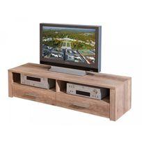 Altobuy - Myca Chêne - Meuble Tv