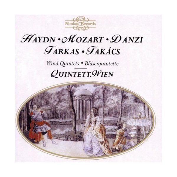 Nimbus Quintettes À Vents : Haydn - Mozart - Danzi - Farkas - Takcs