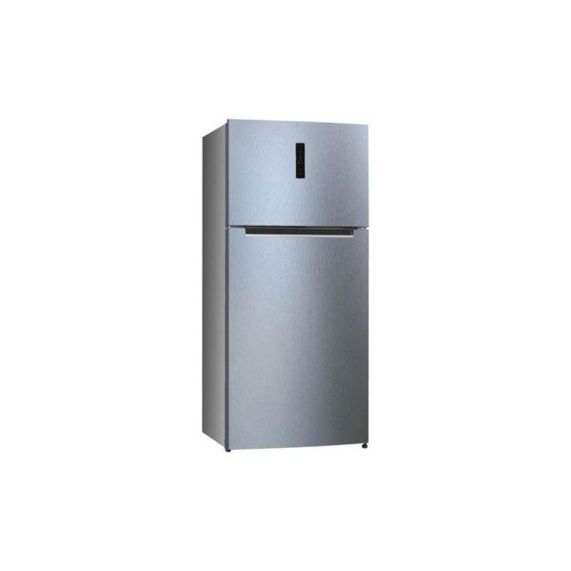 HAIER HTM-776SNF - Refrigerateur Double-portes - 479 L 369 + 110 L - Froid no frost - A+ - Silver