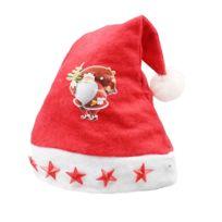 Wewoo - Décoration Noël Tissu Nappé Santa Hat Light Enfants à cinq branches motif Dressing chapeau livraison aléatoire