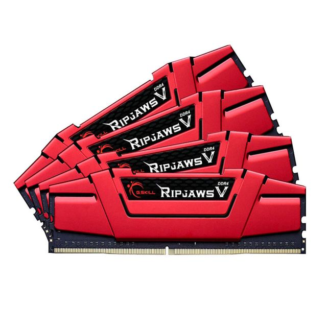 G.SKILL Ripjaws V Series 64 Go 4 x 16 Go DDR4 - 3000 MHz - CAS 15