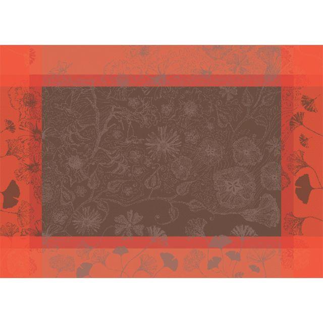 Garnier Thiebaut 4 sets de table 54×39 cm poetree fuchsia