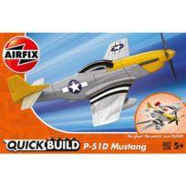 Airfix - Maquette avion : Quick Build : Mustang P-51D