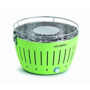 Lotusgrill - Barbecue de table Grill au Charbon Modèle 34 Cm Lime