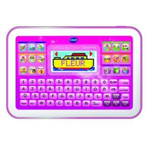 vtech genius xl color tablette rose pas cher achat vente accessoire enfant rueducommerce. Black Bedroom Furniture Sets. Home Design Ideas