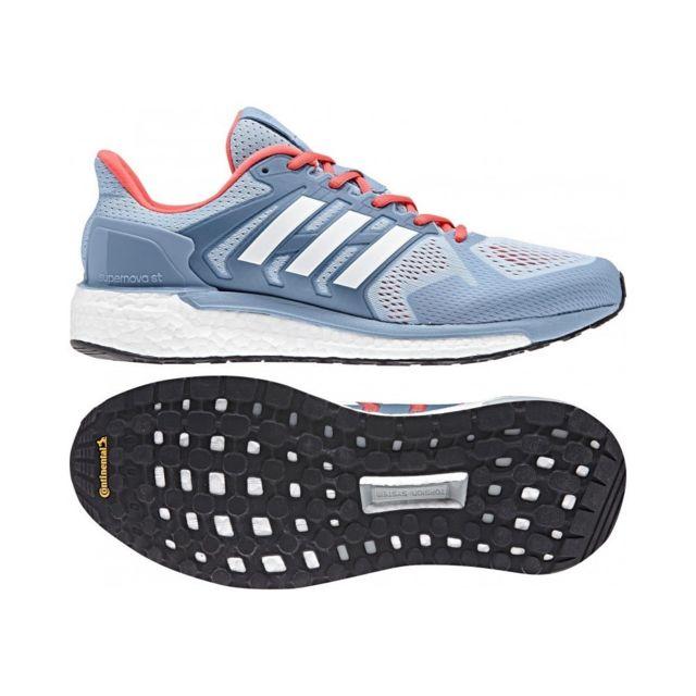Adidas Supernova St W Bleu 38 pas cher Achat Vente