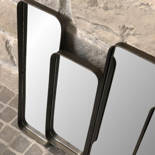 L Originale Deco Long Miroir Multiple Miroirs Style Industriel