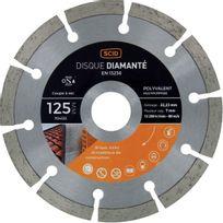 Scid - Disque diamanté polyvalent matériaux Ø 125mm