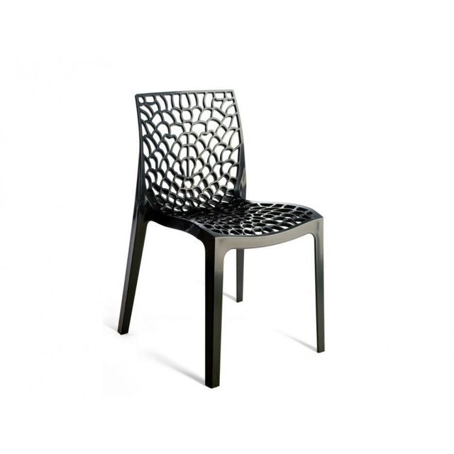 Rue du commerce chaise gruvyer anthracite pas cher achat vente chaises de jardin - Chaise de jardin gris anthracite ...