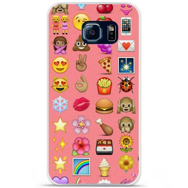 coque emoji galaxy s6 edge plus