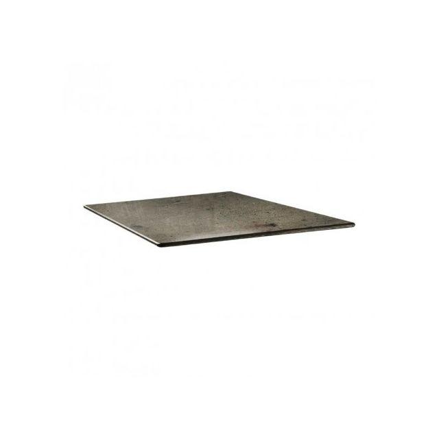 Topalit Plateau de table carré- 80 x 80 - Smartline beton - Béton 800 mm