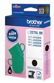 Brother Lc-227XLBK Black Ink Cartridge