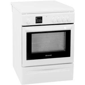brandt cuisini re gaz four pyrolyse kgp1010w kgp 1010 w achat vente cuisini re pas cher. Black Bedroom Furniture Sets. Home Design Ideas