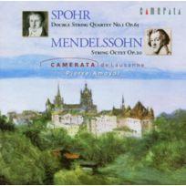 Camerata - Spohr : Double Quatuor A Cordes N°1,OP.65 - Mendelssohn : Octuor A Cordes Op.20 - Cd