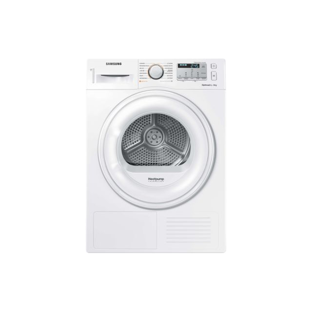 samsung s che linge condensation dv80m50131w blanc achat s che linge condensation a. Black Bedroom Furniture Sets. Home Design Ideas