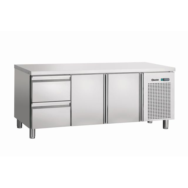 Bartscher Table refrigeree froid ventile, 2T, 2SL