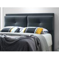 Tête de lit OTELLO - Simili - 160 cm - Gris