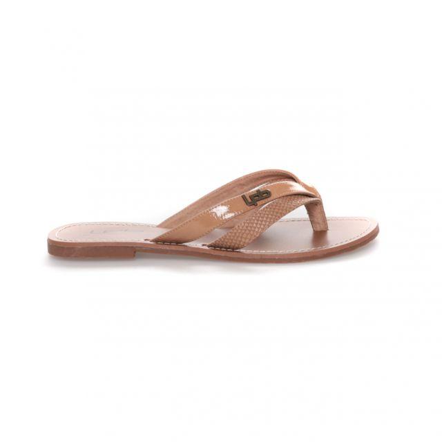 765adee9b901 Lpb Shoes-les Petites Bombes - Tong Kalinda M Camel - pas cher Achat ...