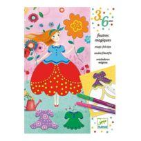 Djeco - Feutres magiques Les jolies robes de Marie - 3-6 ans