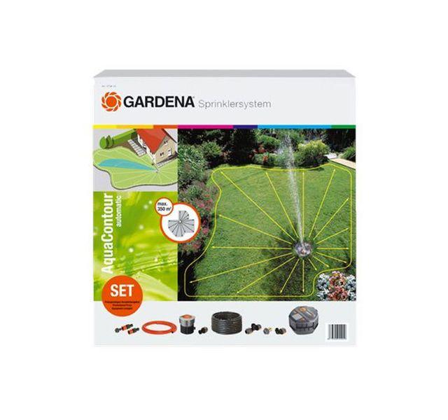 gardena kit arroseur escamotable aquacontour 2708 20 pas cher achat vente arrosage enterr. Black Bedroom Furniture Sets. Home Design Ideas