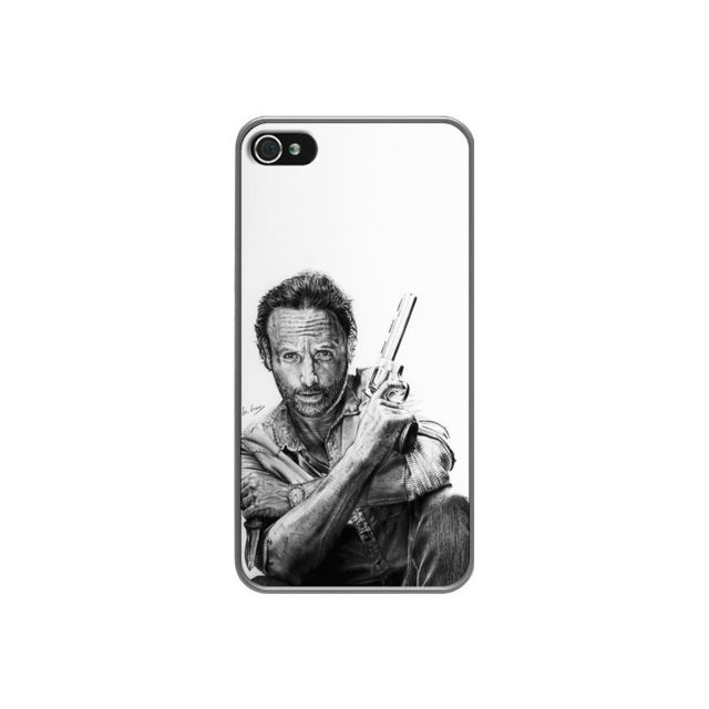 coque iphone 4 et 4s rick the walking dead dr draw