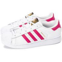 brand new 319e1 b95b5 Adidas originals - Superstar Foundation Enfant Blanche Et Rose