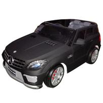 Mercedes - Voiture électrique enfant Ml63 à télécommande 12V Noir mat