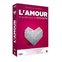Editions Montparnasse - L'amour en quatre leçons de philosophie Coffret 3 Dvd