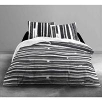 Today - Housse de couette Piano 220x240cm avec taies d'oreillers 100% coton 57 Fils/cm²