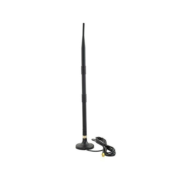 ansmann antenne wifi amovible omnidirectionnelle 12dbi rp sma 41 cm base aimant pas cher. Black Bedroom Furniture Sets. Home Design Ideas