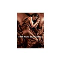 1001 Nuits Enchantees - Parure de lit satin marron / chocolat