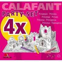 Calafant - Princesse Party Set Pour 4 Enfants