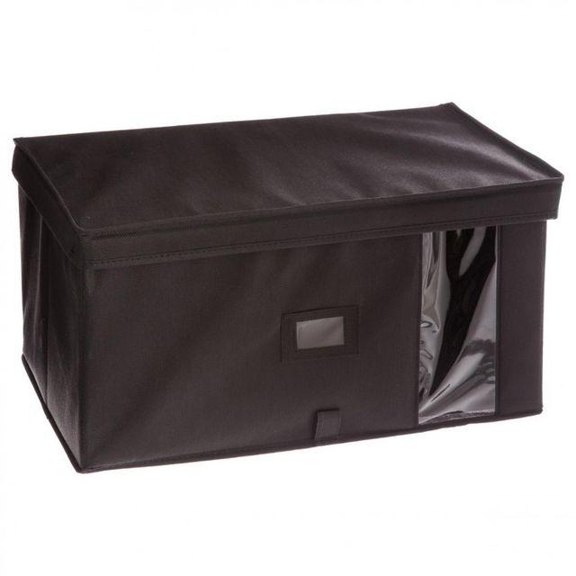 paris prix bo te de rangement dressing 30x50cm gris anthracite pas cher achat vente. Black Bedroom Furniture Sets. Home Design Ideas