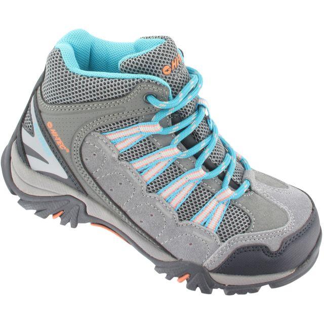 Hitec - Hi-Tec Forza Mid Wp - Chaussures Enfant - gris