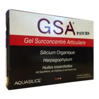 Aquasilice - Gsa patchs - 5 patchs + 5 monodoses