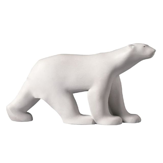 Parastone Figurine miniature reproduction L'Ours Blanc de Pompon