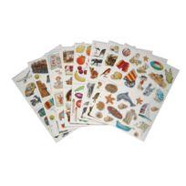Maildor - gommette thematique assorti - pochette de 1290