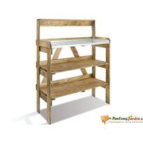 Jardipolys - Table de préparation en bois Evolution
