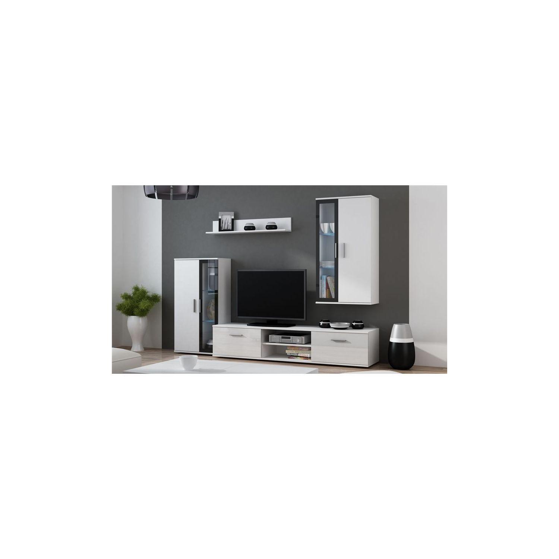 Meubles Tv Soldes Best Meuble Tv Cm Double Plateau With Meubles  # Meuble Tv A Roulettes Chloe Design
