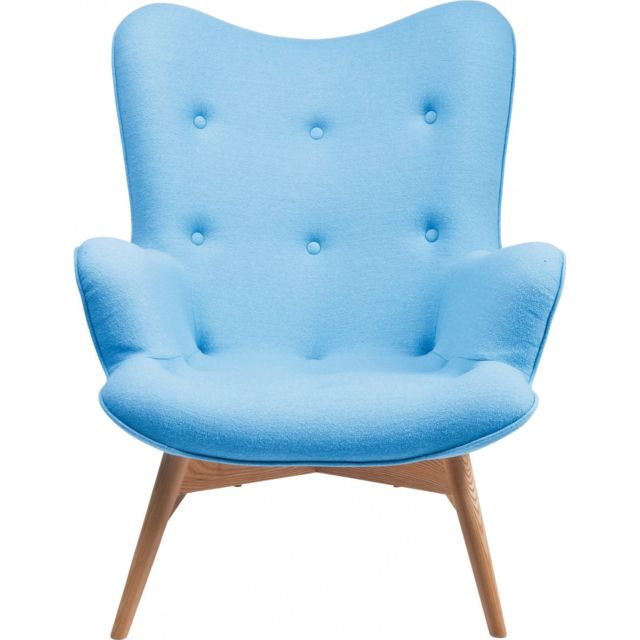 Karedesign Fauteuil Angels Wings bleu Kare Design